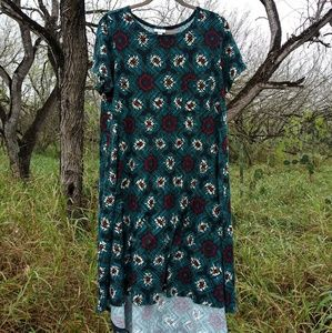 Lularoe high low dress